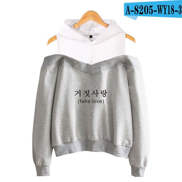 2020 BTS Fake Love Pullover