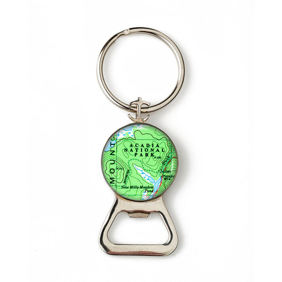 Acadia National Park Anchor Combination Bottle Opener with Key Ring