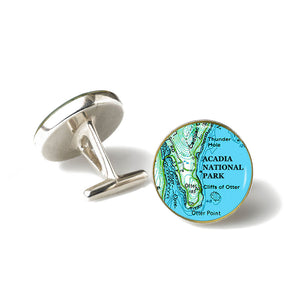 Acadia Otter Point Cufflinks