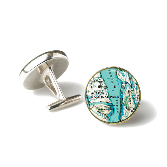 Acadia Somes Sound Cufflinks