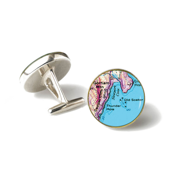 Acadia Thunder Hole Cufflinks