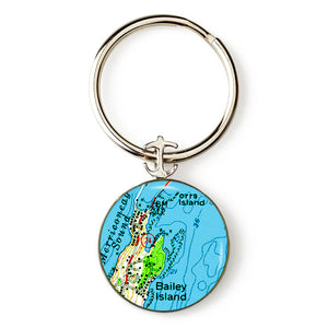 Bailey Island 1 Key Ring
