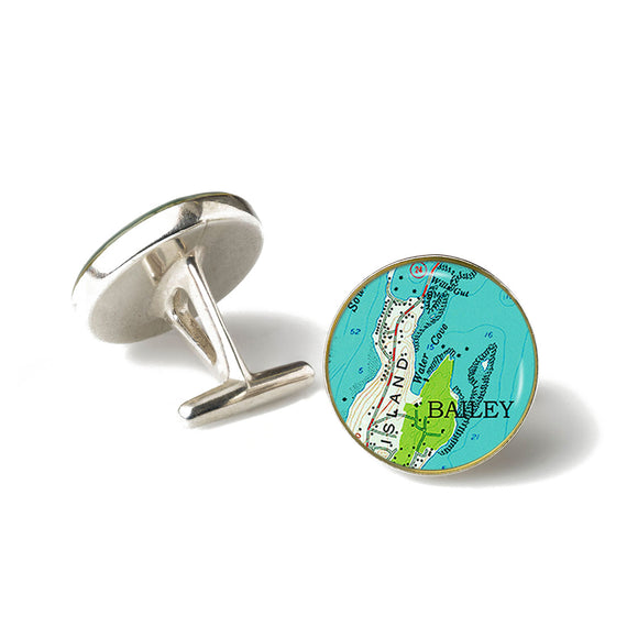 Bailey Island 2 Cufflinks