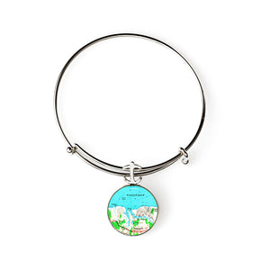 Barnstable Expandable Bracelet with Anchor Charm