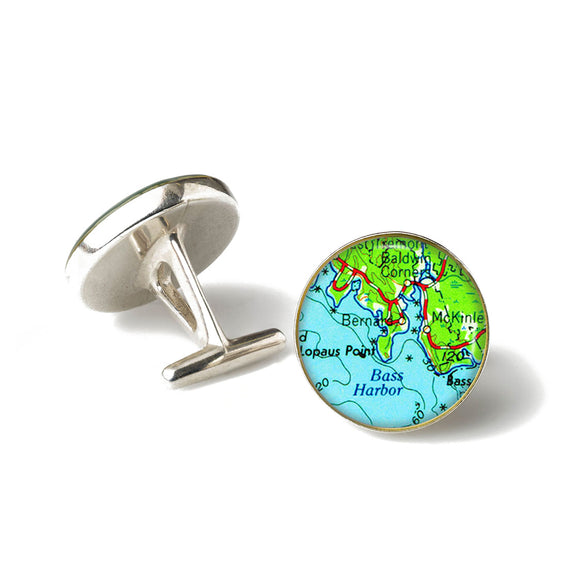 Bass Harbor Cufflinks