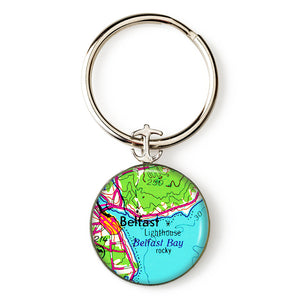 Belfast Lighthouse Key Ring