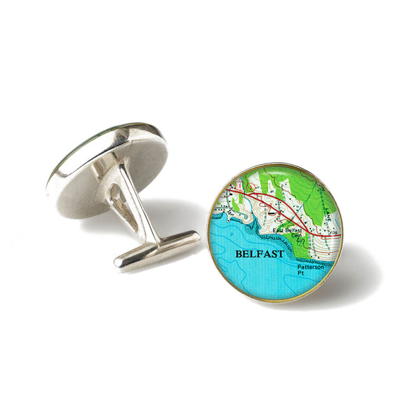 Belfast Patterson Point Cufflinks