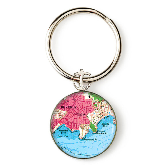 Beverly Mac Cove Anchor Key Ring