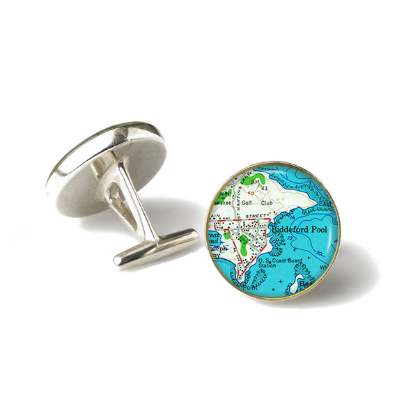 Biddeford Pool Anchor Cufflinks