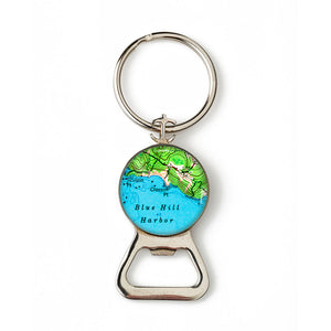 Blue Hill Closson Point Anchor Combination Bottle Opener with Key Ring