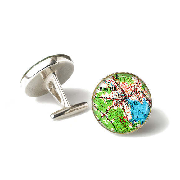 Blue Hill Inner Harbor Cufflinks