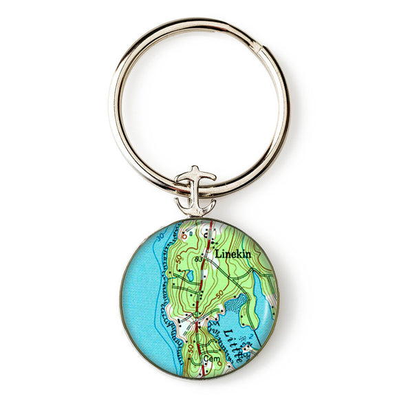Boothbay Linekin Key Ring