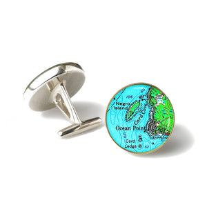 Boothbay Ocean Point 1 Cufflinks