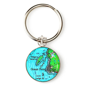Boothbay Ocean Point 1 Key Ring