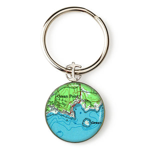 Boothbay Ocean Point 2 Key Ring