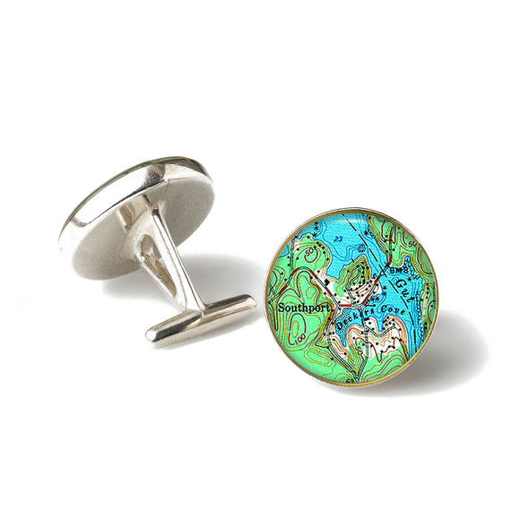 Boothbay Southport Deckers Cove Cufflinks