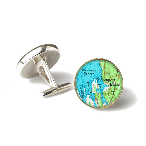 Boothbay Southport Ebenecook Cufflinks