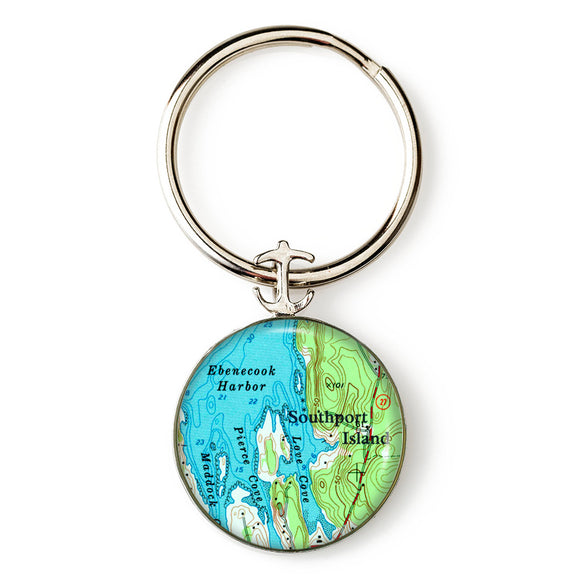 Boothbay Southport Ebenecook Key Ring