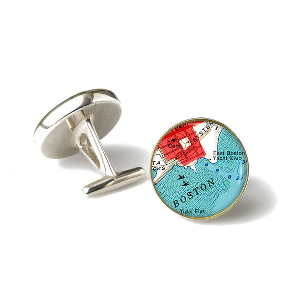 Boston Harbor Cufflinks