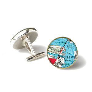 Boston Mystic River Cufflinks