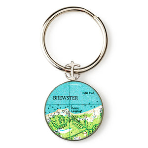 Brewster Anchor Key Ring