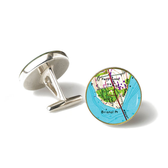 Bristol Point Cufflinks