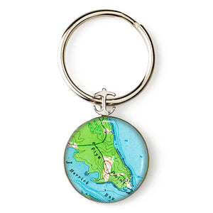 Brooklin Flye Point Anchor Key Ring