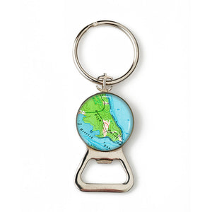 Brooklin Flye Point Anchor Combination Bottle Opener with Key Ring