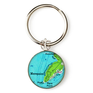 Brunswick Mere Point Key Ring
