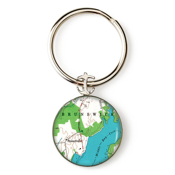 Brunswick Key Ring