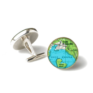 Buck Harbor South Brooksville Cufflinks