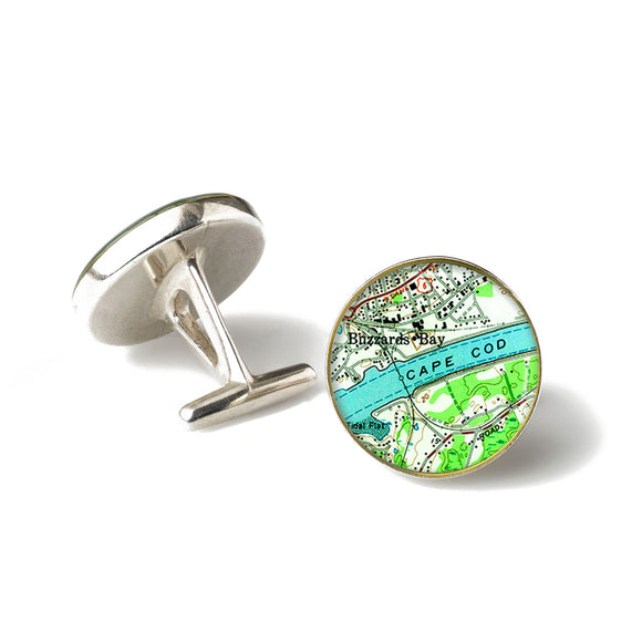 Cape Cod Buzzards Bay Cufflinks