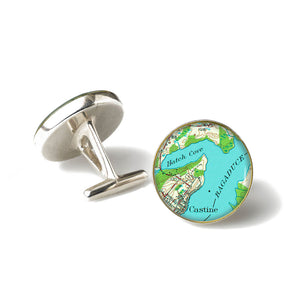 Castine Bagaduce River Cufflinks