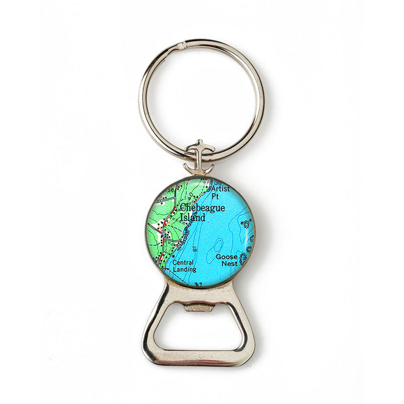 Chebeague Island 1 Combination Bottle Opener With Key Ring