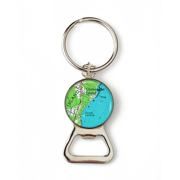 Chebeague Island 2 Combination Bottle Opener With Key Ring