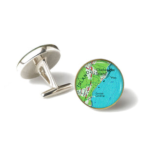 Chebeague Island 2 Cufflinks