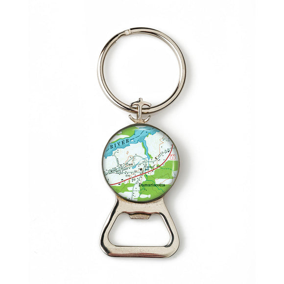 Damariscotta 1 Combination Bottle Opener with Key Ring