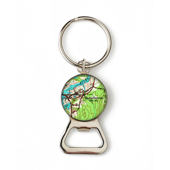 Damariscotta 2 Combination Bottle Opener with Key Ring