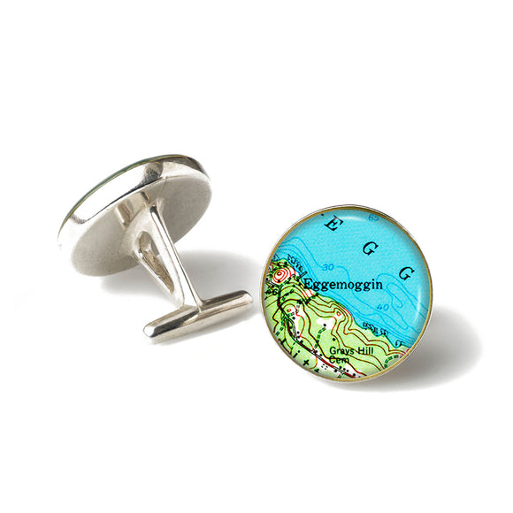 Deer Isle Eggemogin Cufflinks