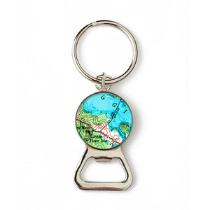 Deer Isle Little Deer Isle Anchor Combination Bottle Opener with Key Ring