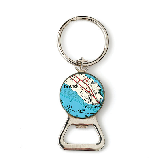 Dover Anchor Combination Bottle Opener with Key Ring