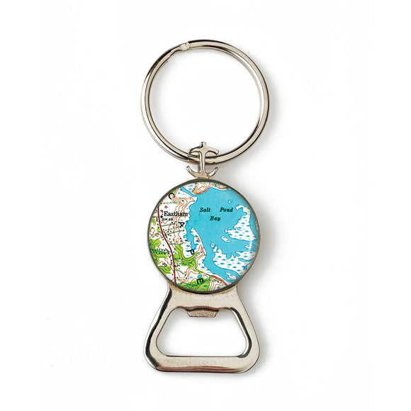 Eastham Combination Bottle Opener with Key Ring
