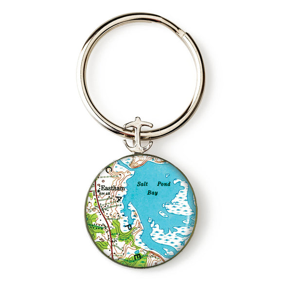 Eastham Anchor Key Ring