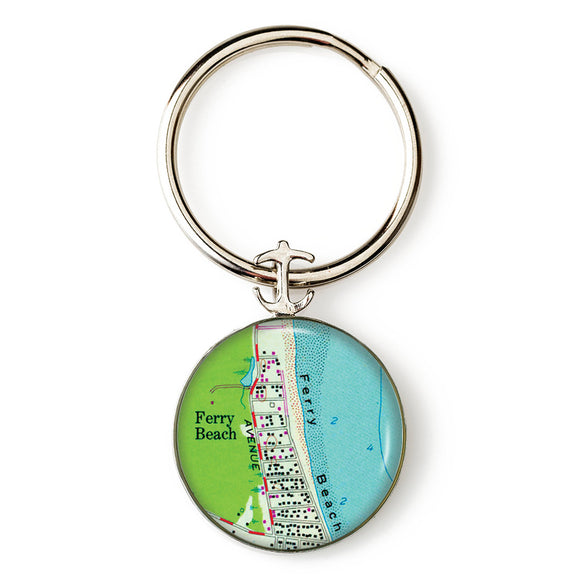 Ferry Beach Anchor Key Ring