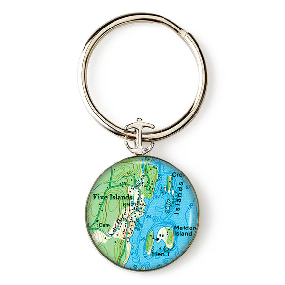 Five Islands Key Ring