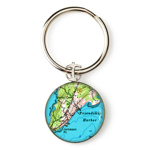 Friendship Harbor Key Ring