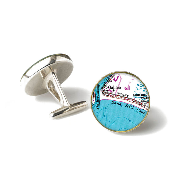 Galilee Sand Hill Cove Cufflinks