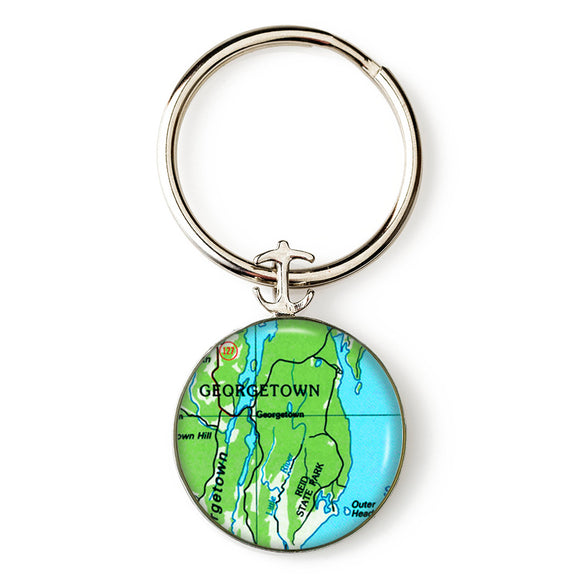 Georgetown Key Ring