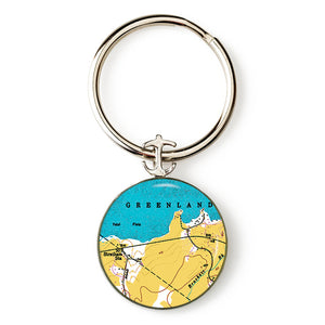 Greenland Anchor Key Ring