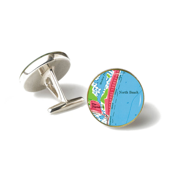 Hampton Beach North Beach Cufflinks